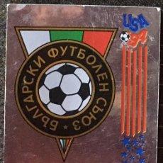 Cromos de Fútbol: CROMO Nº 287 ESCUDO BULGARIA PANINI MUNDIAL USA 1994 94 NUNCA PEGADO. Lote 235858230