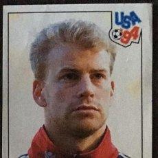 Cromos de Fútbol: CROMO Nº 343 NORGE PANINI MUNDIAL USA 1994 94 NUNCA PEGADO. Lote 235858250