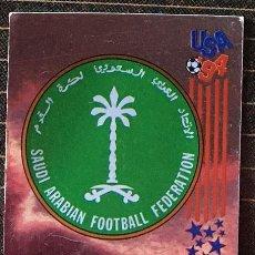 Cromos de Fútbol: CROMO Nº 435 ESCUDO ARABIA SAUDI PANINI MUNDIAL USA 1994 94 NUNCA PEGADO. Lote 235858305