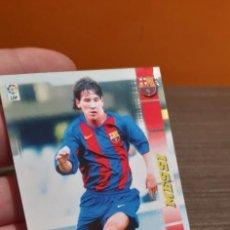 Cartes à collectionner de Football: MEGACRACK 04 LIONEL MESSI ROOKIE CARD 71 BIS MEGA CRACK 04/05. Lote 235909130