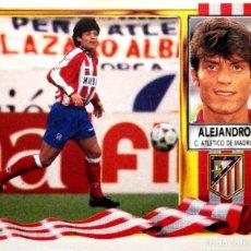 Figurine di Calcio: ALEJANDRO - ATLETICO DE MADRID - EDICIONES ESTE LIGA 1995 1996 95 96 - SIN PEGAR. Lote 235998685