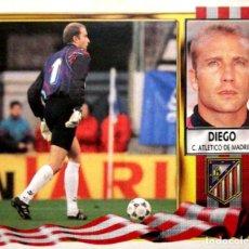Figurine di Calcio: DIEGO - ATLETICO DE MADRID - EDICIONES ESTE LIGA 1995 1996 95 96 - SIN PEGAR. Lote 235999410