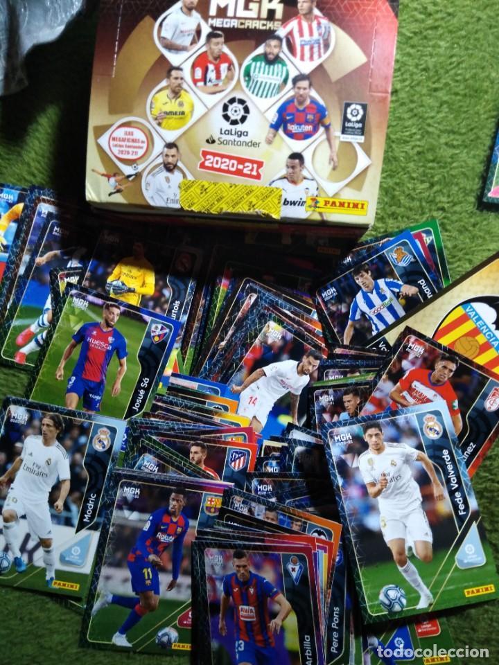 LOTE 250 CROMOS FICHAS MEGACRACKS 2020 2021 20 21 PANINI ALBUM LIGA FÚTBOL MEGA CRACKS MGK (Coleccionismo Deportivo - Álbumes y Cromos de Deportes - Cromos de Fútbol)
