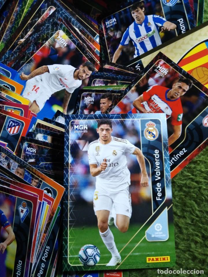 Cromos de Fútbol: LOTE 250 CROMOS FICHAS MEGACRACKS 2020 2021 20 21 PANINI ALBUM LIGA FÚTBOL MEGA CRACKS MGK - Foto 3 - 236042275