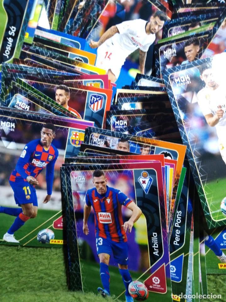 Cromos de Fútbol: LOTE 250 CROMOS FICHAS MEGACRACKS 2020 2021 20 21 PANINI ALBUM LIGA FÚTBOL MEGA CRACKS MGK - Foto 5 - 236042275