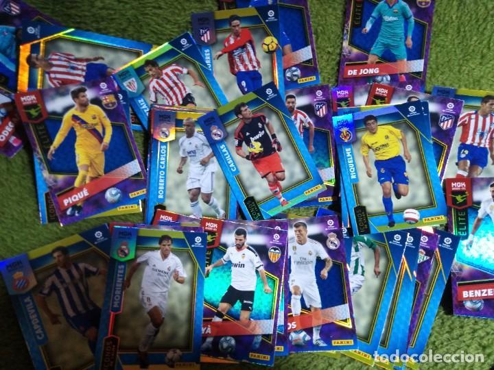 LOTE 45 CROMOS FICHAS ICONOS ELITES MEGACRACKS 2020 2021 20 21 PANINI MEGA CRACKS MGK (Coleccionismo Deportivo - Álbumes y Cromos de Deportes - Cromos de Fútbol)