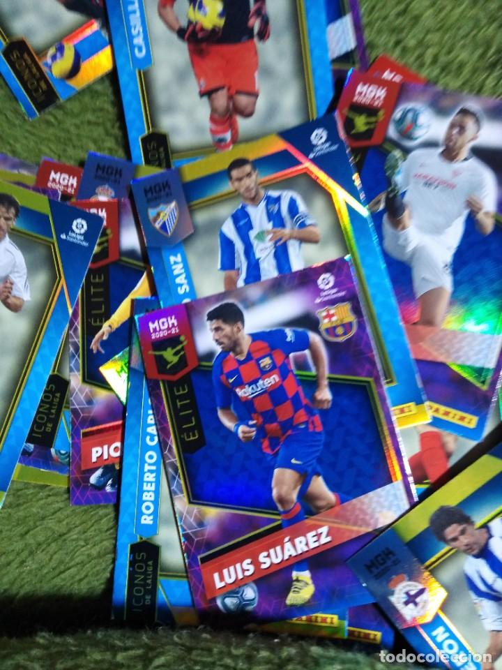 Cromos de Fútbol: LOTE 45 CROMOS FICHAS ICONOS ELITES MEGACRACKS 2020 2021 20 21 PANINI MEGA CRACKS MGK - Foto 3 - 236044610