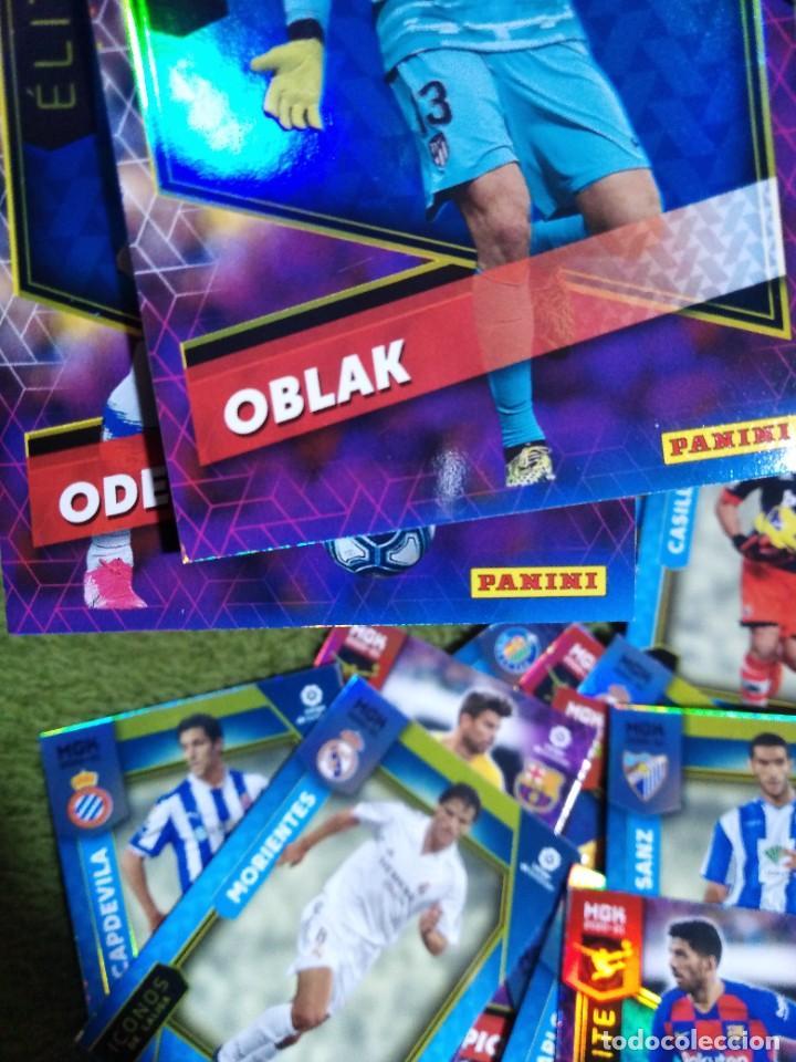 Cromos de Fútbol: LOTE 45 CROMOS FICHAS ICONOS ELITES MEGACRACKS 2020 2021 20 21 PANINI MEGA CRACKS MGK - Foto 4 - 236044610