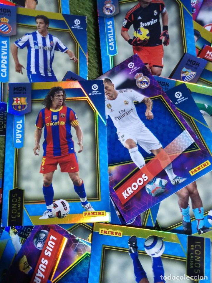 Cromos de Fútbol: LOTE 45 CROMOS FICHAS ICONOS ELITES MEGACRACKS 2020 2021 20 21 PANINI MEGA CRACKS MGK - Foto 5 - 236044610
