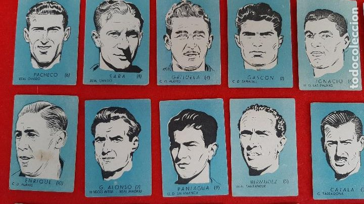 Cromos de Fútbol: LOTE DE 40 CROMOS FUTBOL CALENDARIO DINAMICO 1951 52 NUEVOS SIN PEGAR ORIGINAL L40 CR16 - Foto 2 - 236166145