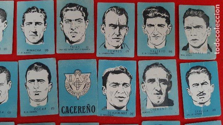 Cromos de Fútbol: LOTE DE 40 CROMOS FUTBOL CALENDARIO DINAMICO 1951 52 NUEVOS SIN PEGAR ORIGINAL L40 CR16 - Foto 3 - 236166145