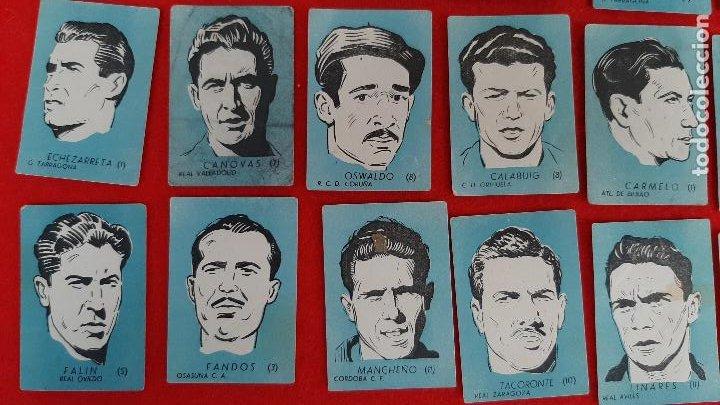 Cromos de Fútbol: LOTE DE 40 CROMOS FUTBOL CALENDARIO DINAMICO 1951 52 NUEVOS SIN PEGAR ORIGINAL L40 CR16 - Foto 4 - 236166145