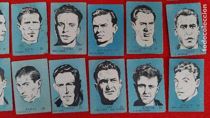 Cromos de Fútbol: LOTE DE 40 CROMOS FUTBOL CALENDARIO DINAMICO 1951 52 NUEVOS SIN PEGAR ORIGINAL L40 CR16 - Foto 5 - 236166145