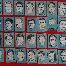 Cromos de Fútbol: LOTE DE 40 CROMOS FUTBOL CALENDARIO DINAMICO 1951 52 NUEVOS SIN PEGAR ORIGINAL L40 CR16. Lote 236166145