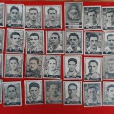 Cromos de Fútbol: LOTE DE 41 CROMOS FUTBOL ASES DEL FUTBO 1953 BRUGUERA CHOCOLATES ROYO REQUENA ORIGINAL L41 CR16. Lote 236167540