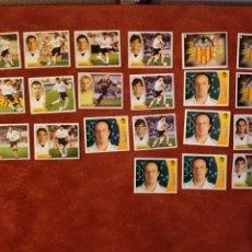 Cromos de Fútbol: LOTE DE 21 CROMOS VALENCIA C. F. 2003-2004 03-04. Lote 236216870
