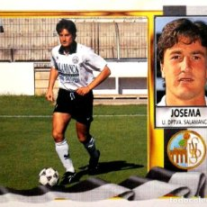 Figurine di Calcio: JOSEMA - U.D. SALAMANCA - EDICIONES ESTE LIGA 1995 1996 95 96 - SIN PEGAR. Lote 236328450