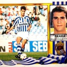 Figurine di Calcio: PIKABEA - REAL SOCIEDAD - EDICIONES ESTE LIGA 1995 1996 95 96 - SIN PEGAR. Lote 236515870