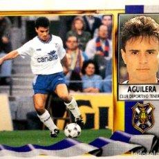 Figurine di Calcio: AGUILERA - C.D. TENERIFE - EDICIONES ESTE LIGA 1995 1996 95 96 - SIN PEGAR. Lote 236518535