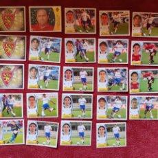 Cromos de Fútbol: LOTE DE 24 CROMOS R. ZARAGOZA LIGA ESTE 2003-2004 03-04. Lote 236520465