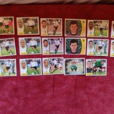 Cromos de Fútbol: LOTE DE 17 CROMOS R. RACING C. LIGA ESTE 2003-2004 03-04. Lote 236525515