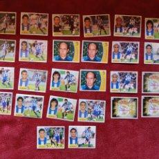 Cromos de Fútbol: LOTE DE 26 CROMOS R. C. DEPORTIVO LIGA ESTE 2003-2004 03-04. Lote 236527800