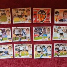 Cromos de Fútbol: LOTE DE 12 CROMOS VALENCIA C. F. LIGA ESTE 2004-2005 04-05. Lote 236542620