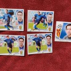 Cromos de Fútbol: LOTE DE 5 CROMOS GETAFE C. F. LIGA ESTE 2004-2005 04-05. Lote 236547420