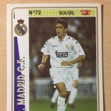 Figurine di Calcio: 1994-1995 - 72 RAUL (ROOKIE) - REAL MADRID - MUNDICROMO - 31. Lote 236659020