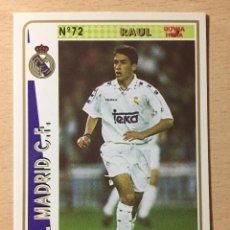 Figurine di Calcio: 1994-1995 - 72 RAUL (ROOKIE) - REAL MADRID - MUNDICROMO - 32. Lote 236659035