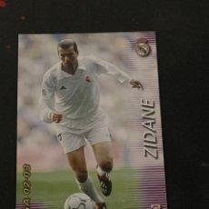 Cromos de Fútbol: ZIDANE COLECCION 2002-2003. Lote 236739360