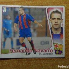 Cromos de Fútbol: FERNANDO NAVARRO DEL BARCELONA ALBUM ESTE LIGA 2004 - 2005 ( 04 - 05 ). Lote 236793755