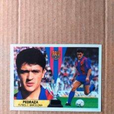 Cromos de Fútbol: ESTE - LIGA 87/88 - 1987 1988 - F.C. BARCELONA - PEDRAZA - RECORTADO. Lote 236883790