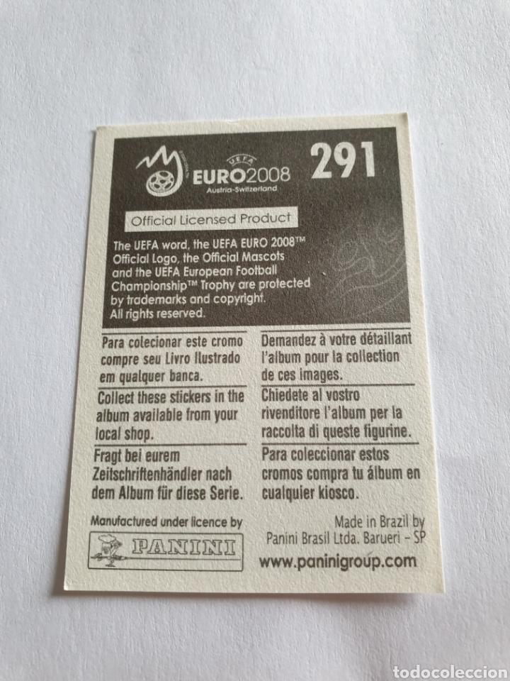 Cromos de Fútbol: 291 FABIO GROSSO ITALIA EURO 2008 AUSTRIA - SUIZA PANINI NUEVO - Foto 2 - 236938570