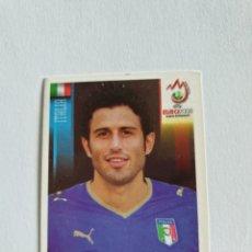 Cromos de Fútbol: 291 FABIO GROSSO ITALIA EURO 2008 AUSTRIA - SUIZA PANINI NUEVO. Lote 236938570