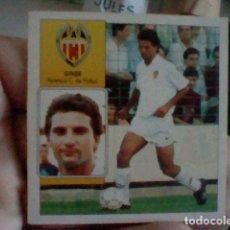 Cromos de Fútbol: GINER VALENCIA ED ESTE CROMO SIN PEGAR NUNCA LIGA 1992 92 93. Lote 237205985