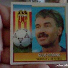 Cromos de Fútbol: HIDDINK VALENCIA ED ESTE CROMO SIN PEGAR NUNCA LIGA 1992 92 93. Lote 237206005