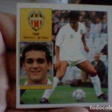 Cromos de Fútbol: TONI VALENCIA ED ESTE CROMO SIN PEGAR NUNCA LIGA 1992 92 93. Lote 237206100