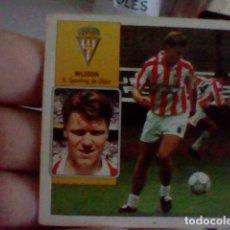 Cromos de Fútbol: NILSON GIJON ED ESTE CROMO SIN PEGAR NUNCA LIGA 1992 92 93. Lote 237313075