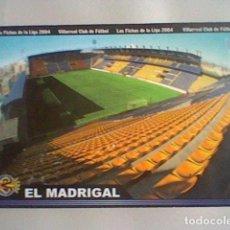 Cromos de Fútbol: MADRIGAL ESTADIO 380 VILLARREAL FICHAS LIGA 2003 2004 03 04 MUNDICROMO MC. Lote 237358380