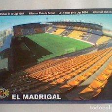 Cromos de Fútbol: MADRIGAL ESTADIO 380 VILLARREAL FICHAS LIGA 2003 2004 03 04 MUNDICROMO MC *. Lote 237358545