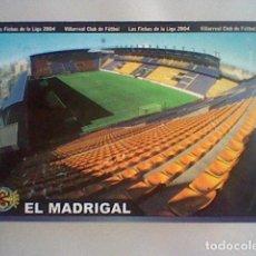 Cromos de Fútbol: MADRIGAL ESTADIO 380 VILLARREAL FICHAS LIGA 2003 2004 03 04 MUNDICROMO MC ***. Lote 237358750