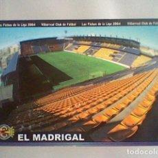 Cromos de Fútbol: MADRIGAL ESTADIO 380 VILLARREAL FICHAS LIGA 2003 2004 03 04 MUNDICROMO MC ****. Lote 237358875