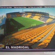 Cromos de Fútbol: MADRIGAL ESTADIO 380 VILLARREAL FICHAS LIGA 2003 2004 03 04 MUNDICROMO MC *****. Lote 237358925