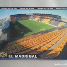 Cromos de Fútbol: MADRIGAL ESTADIO 380 VILLARREAL FICHAS LIGA 2003 2004 03 04 MUNDICROMO MC ******. Lote 237359005