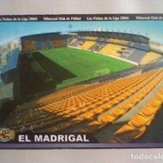 Cromos de Fútbol: MADRIGAL ESTADIO 380 VILLARREAL FICHAS LIGA 2003 2004 03 04 MUNDICROMO MC *******. Lote 237359085