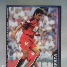 Cromos de Fútbol: ZAPATA 372 VALLADOLID FICHAS LIGA 2003 2004 03 04 MUNDICROMO MC. Lote 237359490