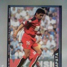 Cromos de Fútbol: ZAPATA 372 VALLADOLID FICHAS LIGA 2003 2004 03 04 MUNDICROMO MC **. Lote 237402100