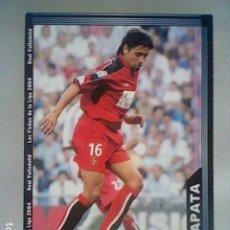 Cromos de Fútbol: ZAPATA 372 VALLADOLID FICHAS LIGA 2003 2004 03 04 MUNDICROMO MC ***. Lote 237402130