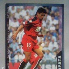 Cromos de Fútbol: ZAPATA 372 VALLADOLID FICHAS LIGA 2003 2004 03 04 MUNDICROMO MC ****. Lote 237402145